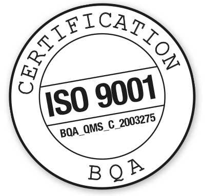 Certification ISO 9001 BQA_QMS_C_2003275